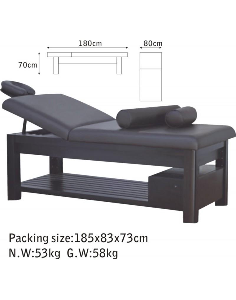 Pat masaj Woodland, lemn masiv 8A5B5C