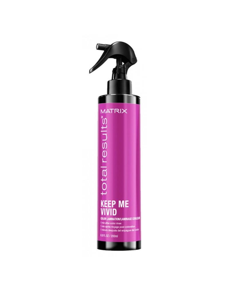 Spray Laminare Post Colorare KEEP ME VIVID  Matrix Total Results 200ml